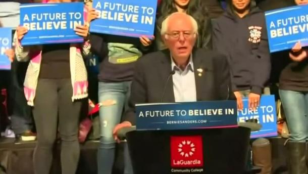 Sanders gewinnt Vorwahl der Demokraten in Wyoming