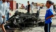 Autobombenanschläge im Irak