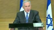 Netanjahu bereit zu neuen Verhandlungen über Friedensinitiative