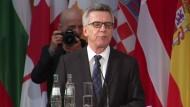 De Maizière: Weniger deutsche Dschihadisten brechen nach Syrien auf