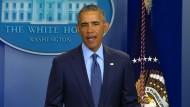 Obama: Akt des Terrors und Akt des Hasses
