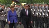 Merkel setzt sich für baldige EU-Visafreiheit Georgiens ein