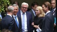 Steinmeier gegen Ende der Verhandlungen