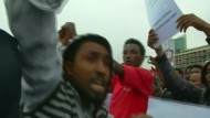 Blutige Proteste in Addis Abeba
