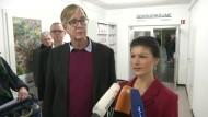 Wagenknecht und Bartsch als Spitzenkandidaten nominiert