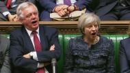 Britisches Unterhaus billigt Brexit-Antrag