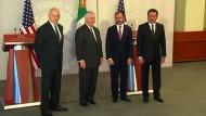 """Mexiko """"besorgt und irritiert"""" über Trump-Politik"""