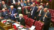 May erleidet mit Brexit-Plan Rückschlag in Parlament