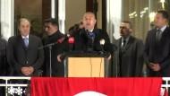 Der Auftritt des türkischen Außenministers
