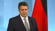 Gabriel sieht keine Alternative zu Gesprächen mit der Türkei