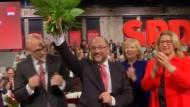 Umfrage: Schulz-Impuls für die SPD lässt nach