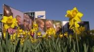 SPD in NRW stellt Wahlplakate vor