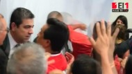 Politiker prügeln sich vor laufender Kamera