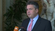 Gabriel: Russland soll Unterstützung Assads aufgeben