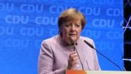 Merkel läutet heiße Phase im NRW-Wahlkampf ein
