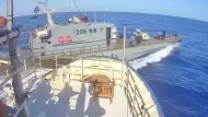 Libysche Küstenwache kreuzt Rettungsschiff