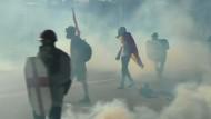 Erneut Krawalle in Venezuela