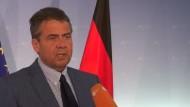 """Gabriel: """"Es ist ein wirklich großer Deutscher gestorben"""""""