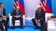 Trump und Putin sprachen ein zweites Mal beim G20-Gipfel