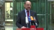 SPD-Kanzlerkandidat fordert Stopp von EU-Hilfen