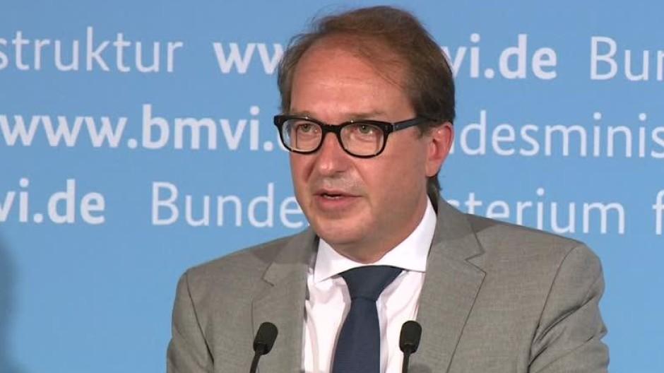 Dobrindt verhängt Zulassungsverbot für Porsche-Modell