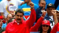 Maduro verspottet Trump wegen Sanktionen