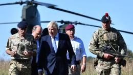 Boris Johnson rüstet auf