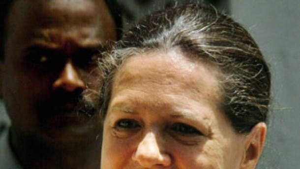 Sonia Gandhi wird Ministerpräsidentin