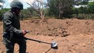 Nasa zweifelt an Meteoriten-Einschlag