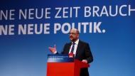 """""""Es wird eine Klausel geben."""" Schulz verspricht Revision der Regierungsarbeit nach zwei Jahren."""