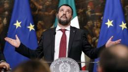 Salvinis Immunität steht auf dem Spiel