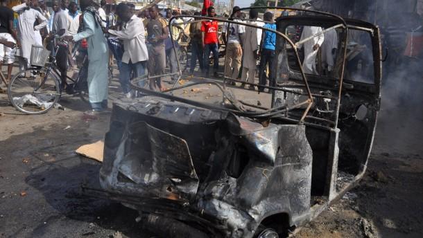 Mindestens 20 Tote bei Anschlag auf Marktplatz