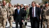 Bundeswehr übergibt Feldlager Kundus an Afghanen