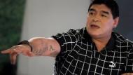 Maradona ist nach Magen-Bypass-OP wohlauf