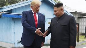 Kleiner Schritt für Trump – und die Menschheit