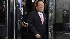 Nordkorea fühlt sich im Krieg, Washington dementiert