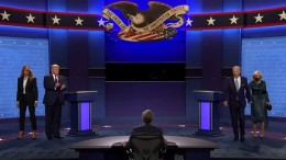 Hitziges TV-Duell zwischen Trump und Biden