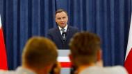 Polens Präsident unterschreibt einen Teil der Justizreform