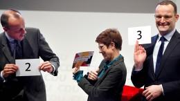 So gut tut der Wahlkampf um das Merkel-Erbe der CDU