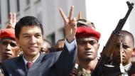 Laut Verfassung zu jung für das Präsidentenamt: Der 34-jährige Andry Rajoelina