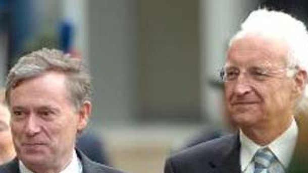 Stoiber warnt Köhler vor Katastrophe