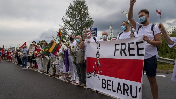 Litauen bietet Lukaschenka die Stirn
