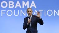 Barack Obama war von 2009 bis 2017 amerikanischer Präsident.