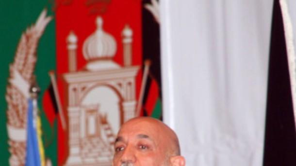 Karzai bestätigt Kontakte mit Taliban