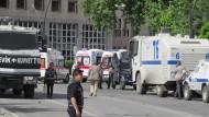 Bombenanschlag auf Polizeihauptquartier in Gaizantep