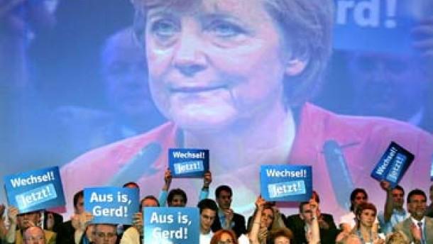 """Merkel verspricht """"besseres Leben"""" nach Wahlsieg"""