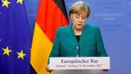 Wo ist die Reform? Angela Merkel im vergangenen Dezember in Brüssel.