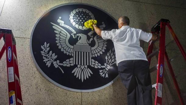 Amerika weist kubanische Diplomaten aus