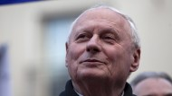 Lafontaine wirbt für rot-rot-grünen Kandidaten