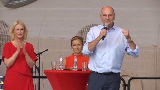 Woidke will Ministerpräsident bleiben